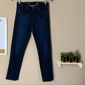 AG Jeans The Prima Cigarette Leg Skinny Jean Blue